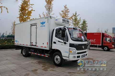 Foton Aumark 3 Series 4×2 154HP Refrigerator Truck