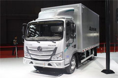 Foton Aumark S1 131HP Van Cargo Light Truck with Single-Row Cab and 4.2m Cargo Body