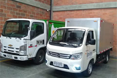 10 Units Foton TM Mini-Trucks Delivered to Columbia for Operation
