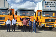 50 SHACMAN Trucks Were Delivered to Local Government of Kenya