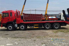 JAC Gallop 4-Axle Flat-bed Transport Vehicle+Weichai Power