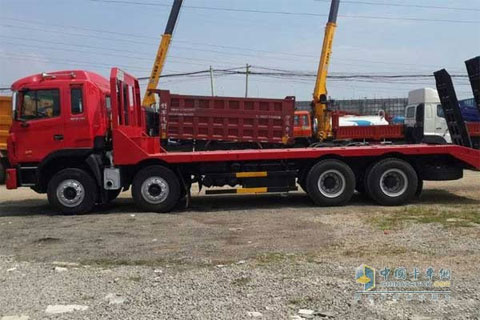 JAC Gallop 4-Axle Flat-bed Transport Vehicle