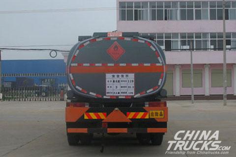 FAW chemical truck 25CBM 6*4