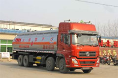 CLW5311GHY3 Chemical truck+Dongfeng Cummins Power