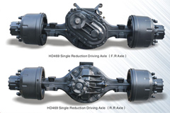 HD469 Single Reduction Driving Axle