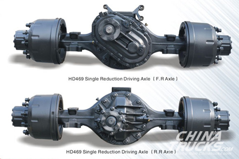 HD469 Sing Reduction Driving Axle