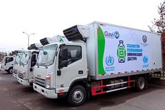 17 Units JAC Light Trucks Donated to Uzbekistan for COVID-19 Vaccine Transport