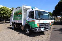 Refuse trucks with Allison automatic transmissions debut in Bauru