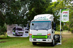 JAC Electric Light Trucks Gains Fast Growing Popularity in Guatemala