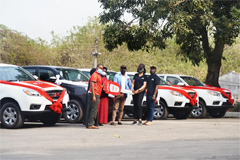 JAC Makes Batch Delivery of T6 Pickups in Nigeria
