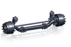 Fuwa XNF-08 Non-Drive Steering Axle