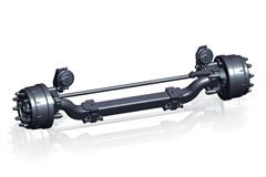 Fuwa XNF-06 Non-Drive Steering Axle