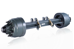 Fuwa Outboard Drum Series Axle