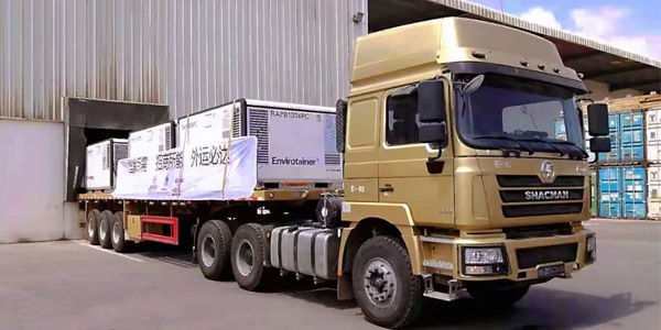 SHACMAN Trucks Provide Transportation to COVID-19 Vaccines in Djibouti