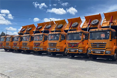 SHACMAN Delivers New M3000 Products to Kenya Customer