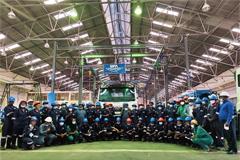 The 100th Unit FAW Jiefang Truck Assembled in Tanzania