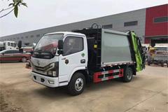 Chengli CLW5070ZYSD6 Compress Garbage Truck(Dongfeng Duolika 5 Cubic Meter)+Yunnei Power