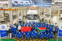 FAW South Africa's 7000TH Truck Built at Coega Plant