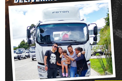 Foton Delivering the Trust Around the World