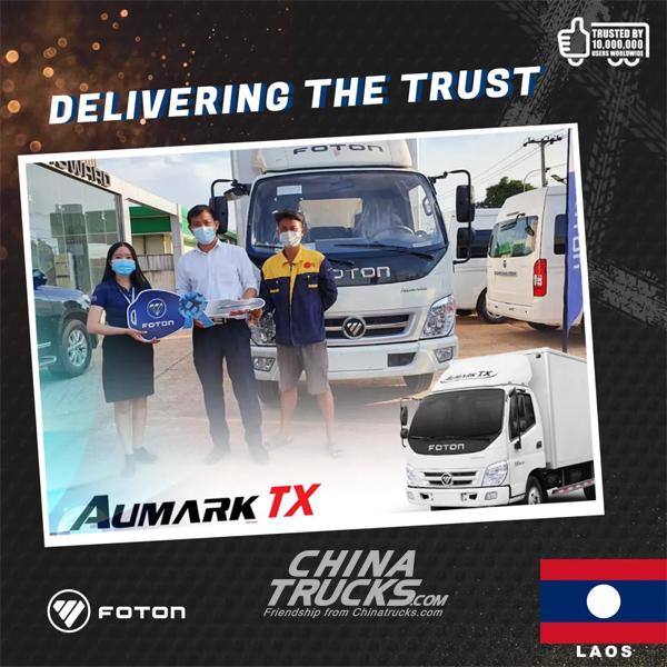 Foton Delivering the Trust