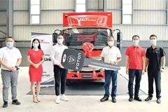 J&T Express Logistics Receives the 500th Unit from Foton