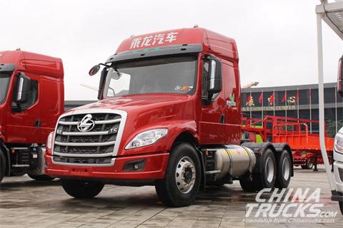 Chenglong T5 400HP 6X4 Long-head(Light-weight 440 Rear Axle)(LZ4250T5DB)