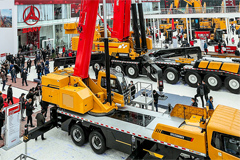 SANY Introduces World's First Licensable Electric Truck Crane