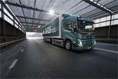 Volvo Trucks and DFDS Cooperate to Run Electric Supply Chain Transports