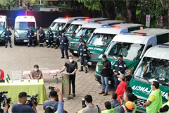 JAC SUNRAY Ambulances Delivered to Bolivia for Operation