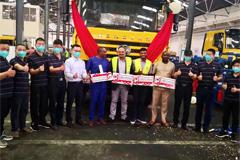 First SAIC Hongyan CKD Heavy-duty Truck Assembled in Tanzania
