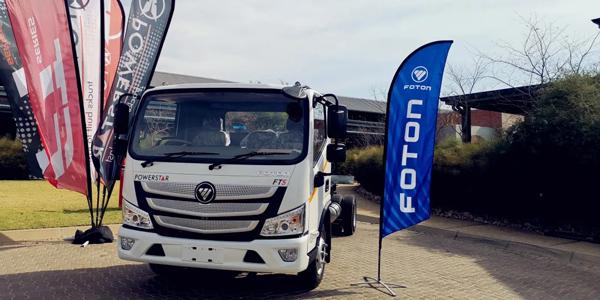 Foton AUMARK S Light Truck Officially Enters South Africa