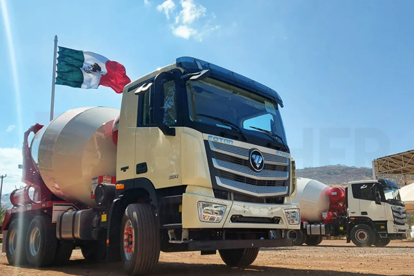Money Master, Foton Auman Trucks Make Mexico City Better