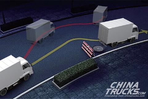 AUMAN EST-M Medium Haul Transport Truck