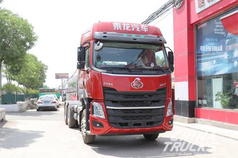 Liuzhou Motor Chenglong H7 LNG 460HP 6X4 Euro 6 Tractor(485 Rear Axle)(LZ4250H7DM1)