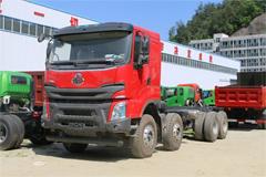 Liuzhou Motor Chenglong H7 LNG 400HP 8X4 7.6M Euro 5 Dumper(LZ3311H7FL)