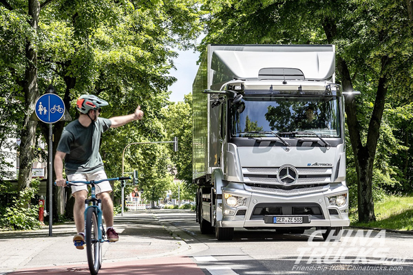 A New Truck for a New Era: Mercedes-Benz eActros Celebrates Its World Premiere