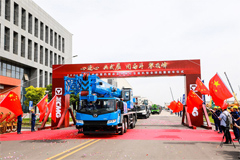 More than 100 XCMG Cranes Are Sent Overseas