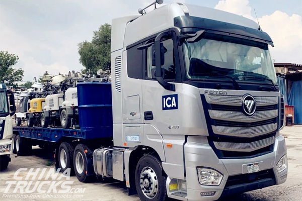 Foton Motor Receives an Order for 11 Trucks from a Top Construction Company in M