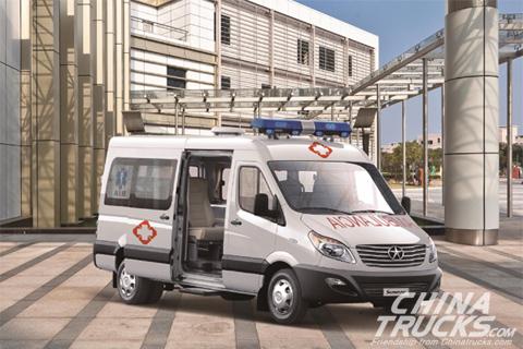 JAC Sunray Ambulance