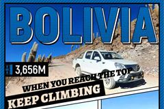 Foton Trucks Take You to Uyuni Salt Flat, in Bolivia, 3656M Above Sea Level