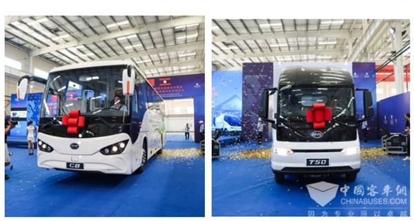 BYD to Send 28 New Energy Vehicles to Laos