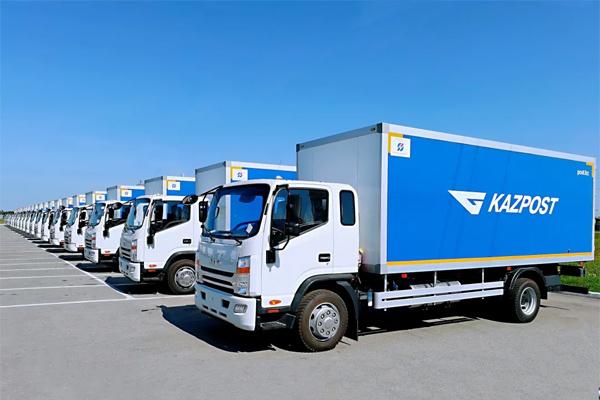 JAC Delivered 62 Commercial Vehicles to Kazakhstan for Postal Service