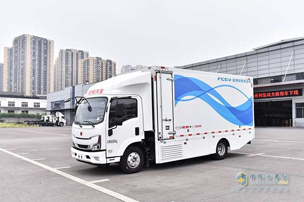 Qingling M-series Hydrogen Fuel Vehicles Went Off the Production Line