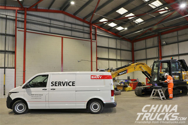 SANY Opens a New Branch in Scotland