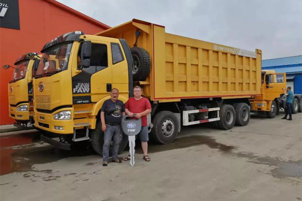 FAW-Eastern European Company Set Sales Record of Over 1000 Units for CV