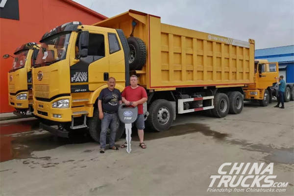 FAW-Eastern European Companies Set Sales Record of Over 1000 Units for CV