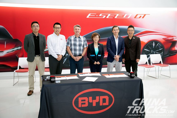 BYD and Levo Announce Collaboration to Deploy Up to 5K Battery-Electric Vehicles
