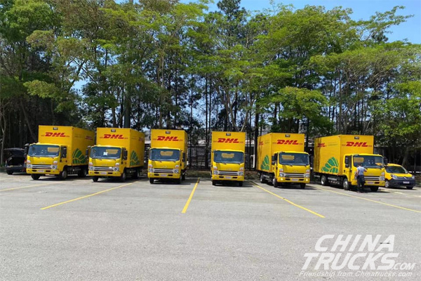 30 JAC Electric Light Trucks Were Delivered to Brazil