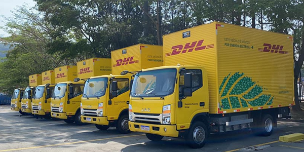 30 JAC Electric Light Trucks Were Delivered to Brazil's DHL Logistics Company