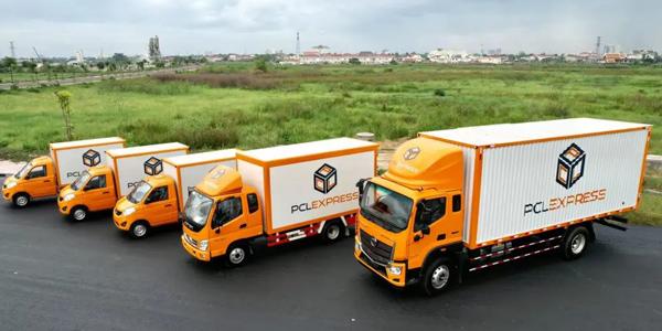 5 Foton Trucks Were Delivered to Laos for Logistics Service